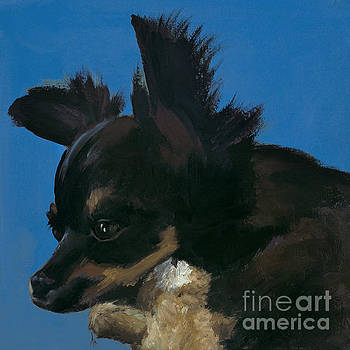 Happiness is... Tobey and Teddy by Alyson Kinkade