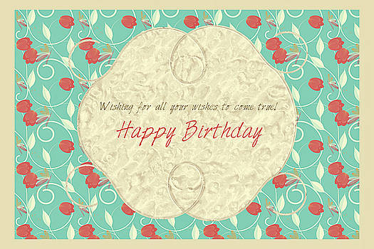 Happy Birthday by Sherry Flaker