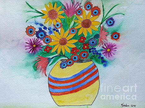 Happy Bouquet by Karleen Kareem