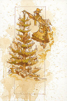 Happy Christmas by Brian Kesinger