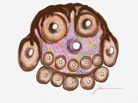 Happy Donut Day by Jean Pacheco Ravinski