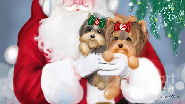 Happy Holidays by Catia Cho