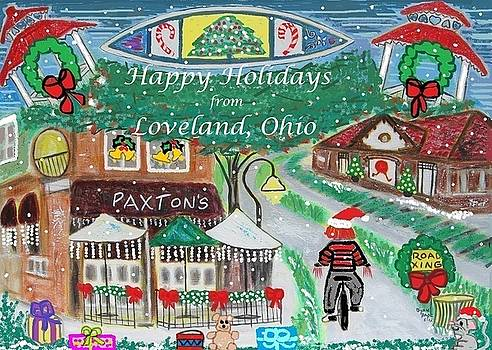 Happy Holidays from Loveland, Ohio by Diane Pape
