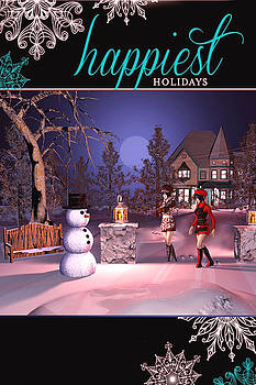 Happy Holidays by John Junek
