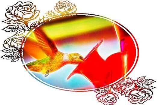 Cindy Nunn - Happy Hummingbird
