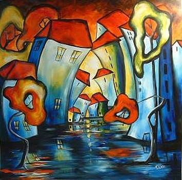 Happy Night In The  Magic City by Elizabeth Kawala