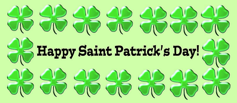 Happy Saint Patrick's Day Mug  by Debbie Chamberlin