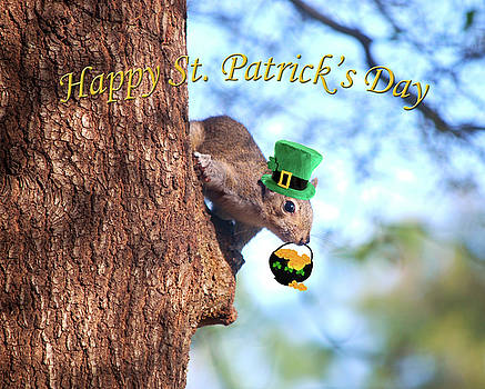 Happy St. Pat's Day Card by Adele Moscaritolo
