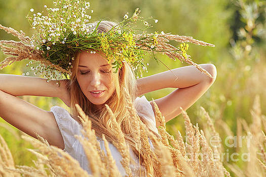 Happy Summer Girl by Aleksey Tugolukov