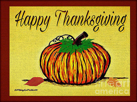 Happy Thanksgiving by MaryLee Parker