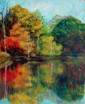 Happy Valley Pond by Lyn Vic