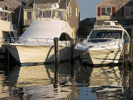 Harbor Boats by Mark Siciliano