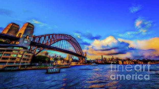 Harbor Bridge by Perry Webster
