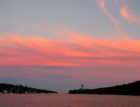 Harbor Sunset by Joe Maranzano