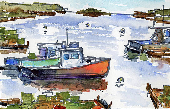 Harbor View, Cape Porpoise by Mary Byrom