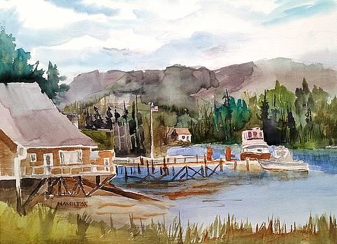 Harbour Scene by Larry Hamilton