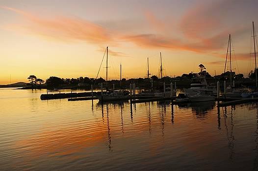 Harbour Sun Set by Kathryn Potempski