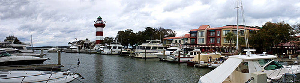 Harbourtown Marina Panorama by Thomas Marchessault