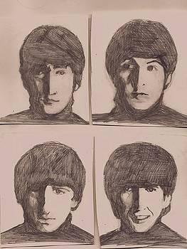 Hard Days Beatles by Michael Hogan