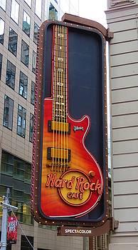 Hard Rock Cafe , NY by Vijay Sharon Govender