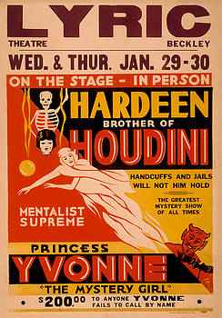 Hardeen Brother of Houdini by David Wagner
