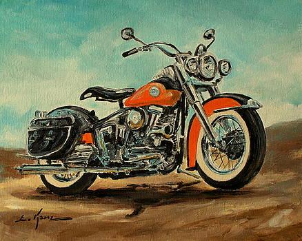 Harley Davidson 1956 FLH by Luke Karcz