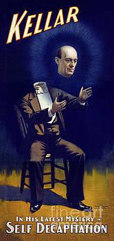 Harry Kellar Magician 1897 Vintage Poster Restored by Carsten Reisinger