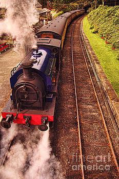 Harry Potters haverthwaite Railway Station by Graham Hawcroft pixsellpix