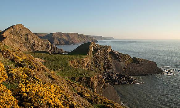 Hartland Seascape from the West coast of Devon by Pete Hemington