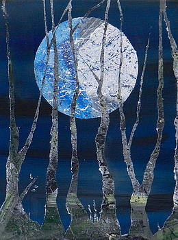 Harvest Moon by Heather  Hubb