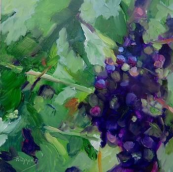 Harvest Time for Red by Carol Hopper