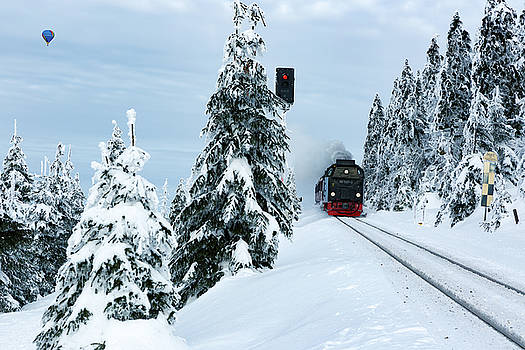 Harz Ballooning and Brocken Railway by Andreas Levi
