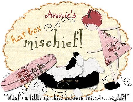 Hat Box Mischief by Yoli Fae