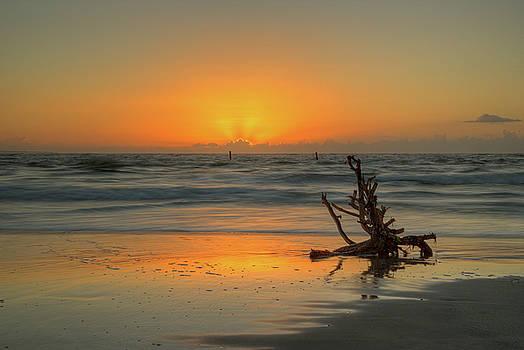 Hatteras Inlet Dawn by Greg Mills