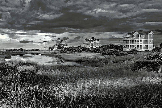 Hatteras Storm Clouds by Suzanne Stout