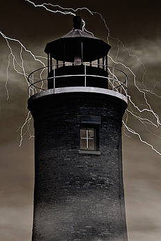Haunted Lighthouse by Emily Kay