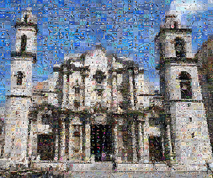 Havana Cathedral by Gilberto Viciedo