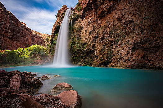 Havasu Falls by Adam Mateo Fierro