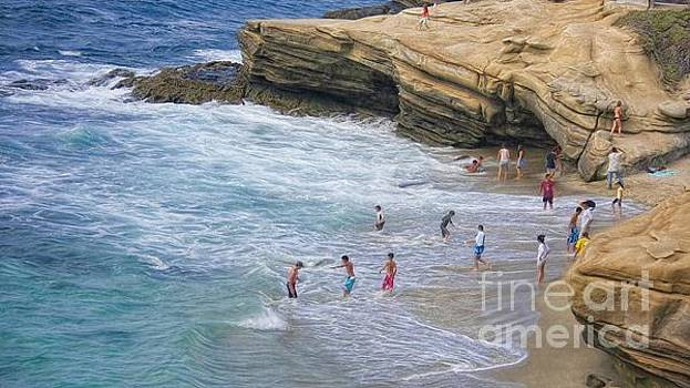 Having Fun In La Jolla by John Kolenberg