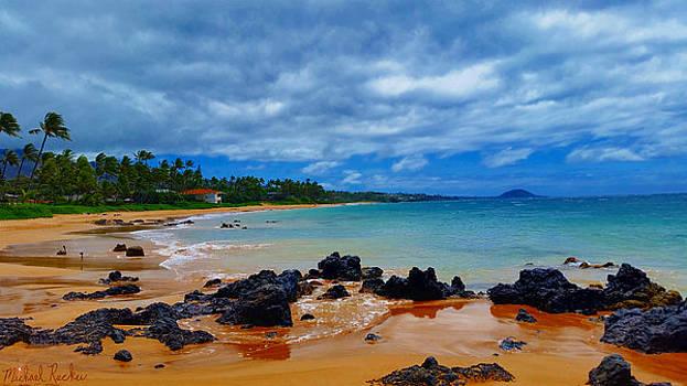 Hawaiian Beach Maui by Michael Rucker