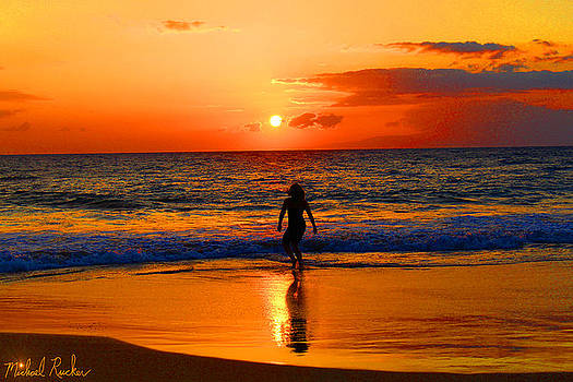 Hawaiian Dancer  by Michael Rucker