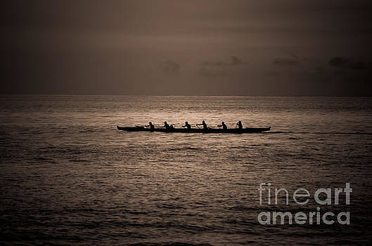 Hawaiian Outrigger by Kelly Wade