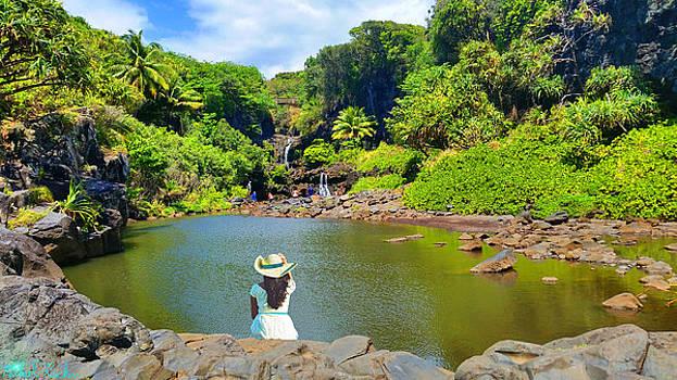 Hawaiian Sacred Pools by Michael Rucker