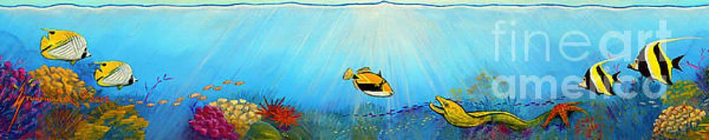 Hawaiian Sea Life by Jerome Stumphauzer