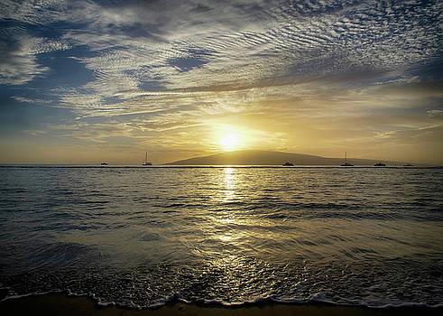 Hawaiian Sunset by Steven Michael