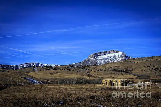 Haystack at Ear Mountain by John Lee