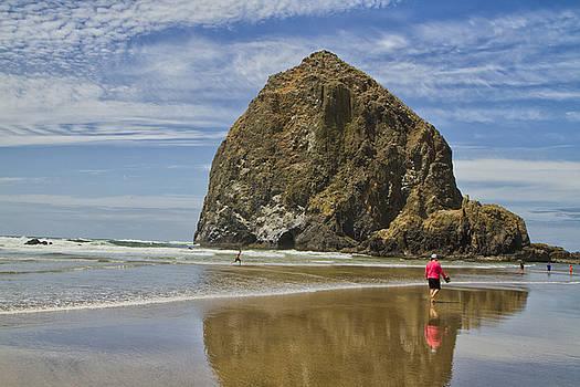 Haystack Rock 0258 by Tom Kelly