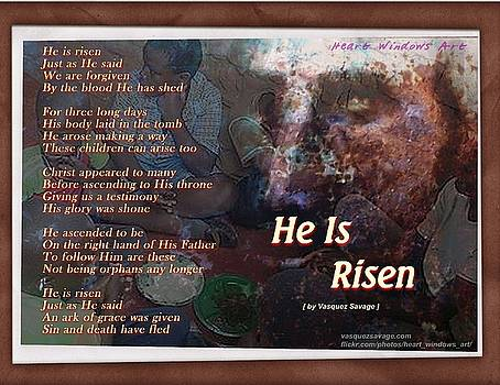 He Is Risen by Kathleen Luther