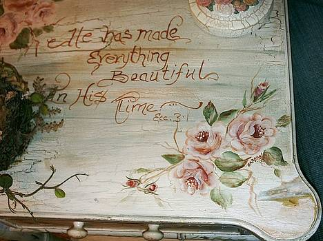 He made everthing beautiful by Carolyn Sylvester
