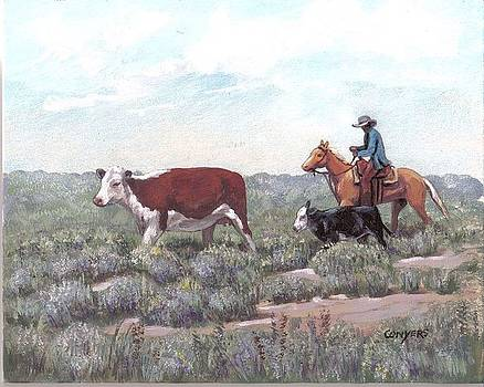 Heading Home by Peggy Conyers
